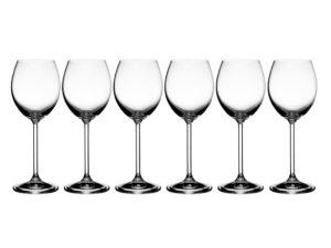 Black Red White, komplet kieliszków do białego wina, 24,38 zł