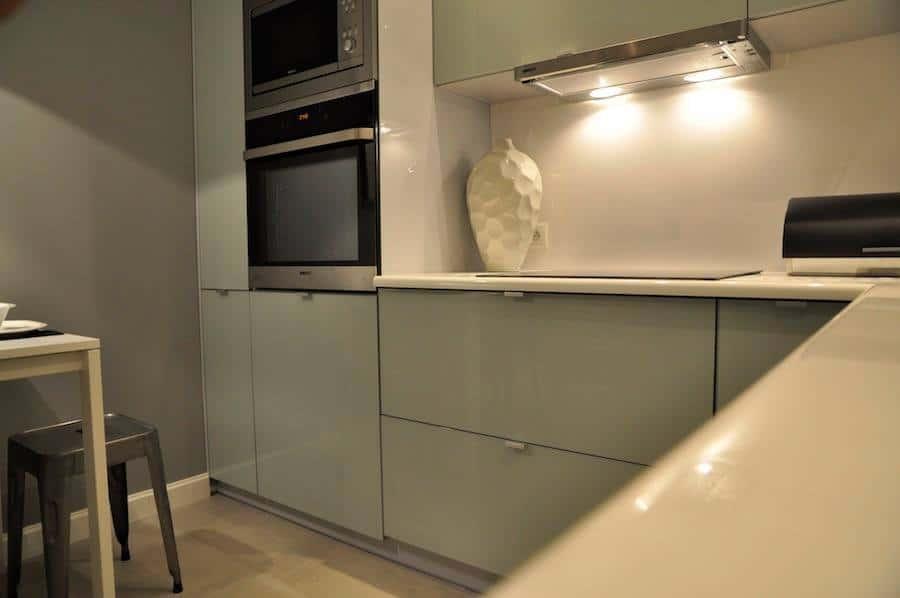 Chłód stali i świeżość mięty  Deko rady pl -> Jasna Kuchnia Ikea