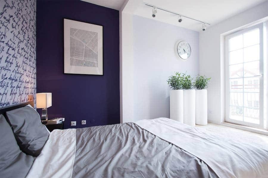 czy fiolet sprawdzi się w sypialni oto nasz dow243d że tak