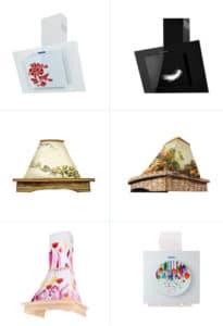 Zobacz, gdzie kupić designerskie okapy w rustykalnym lub nowoczesnym stylu.