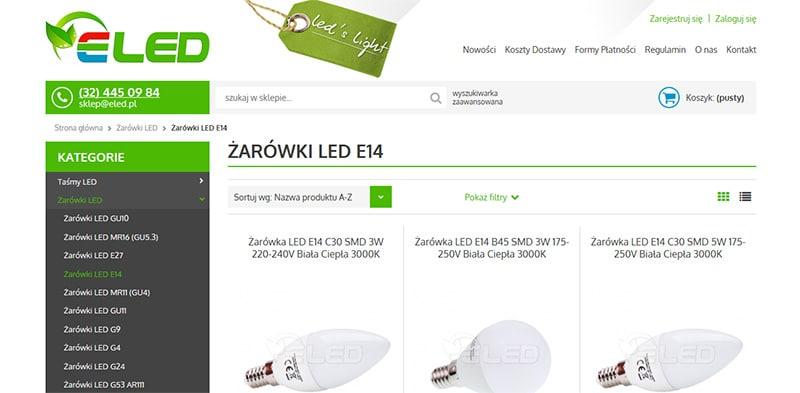 zarowki-led-e14