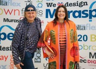 Przemysław Mac stopa z żoną