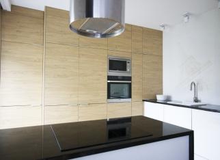 Drewniane fronty w kuchni