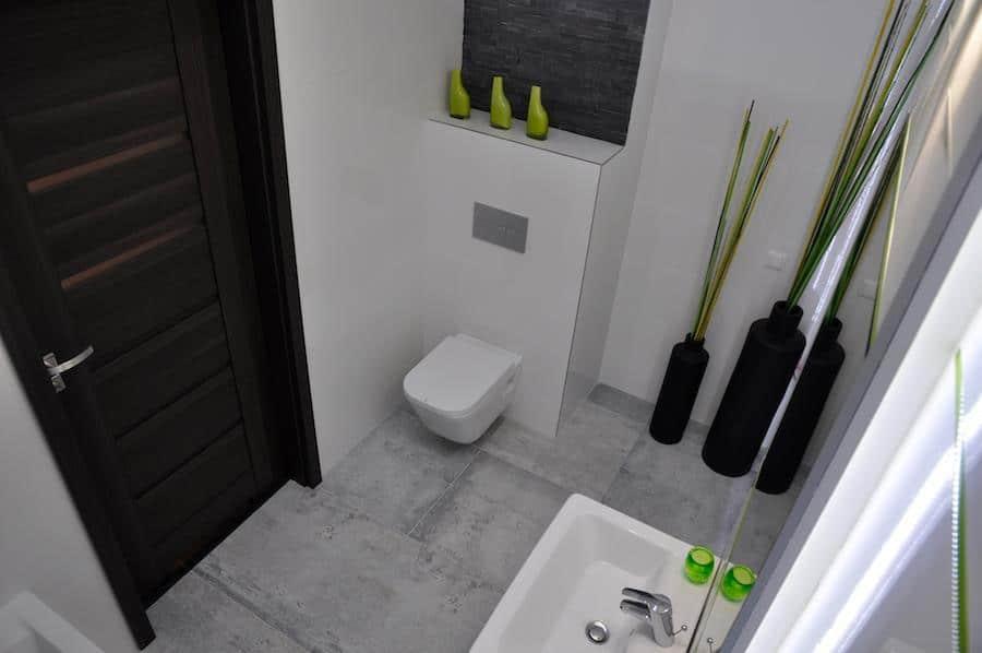 Betonowe Płytki Do łazienki Czyli Podłoga Z Betonu Deko