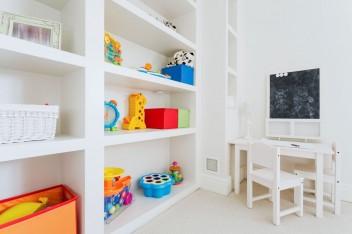 Bezpieczeństwo w pokoju dziecka