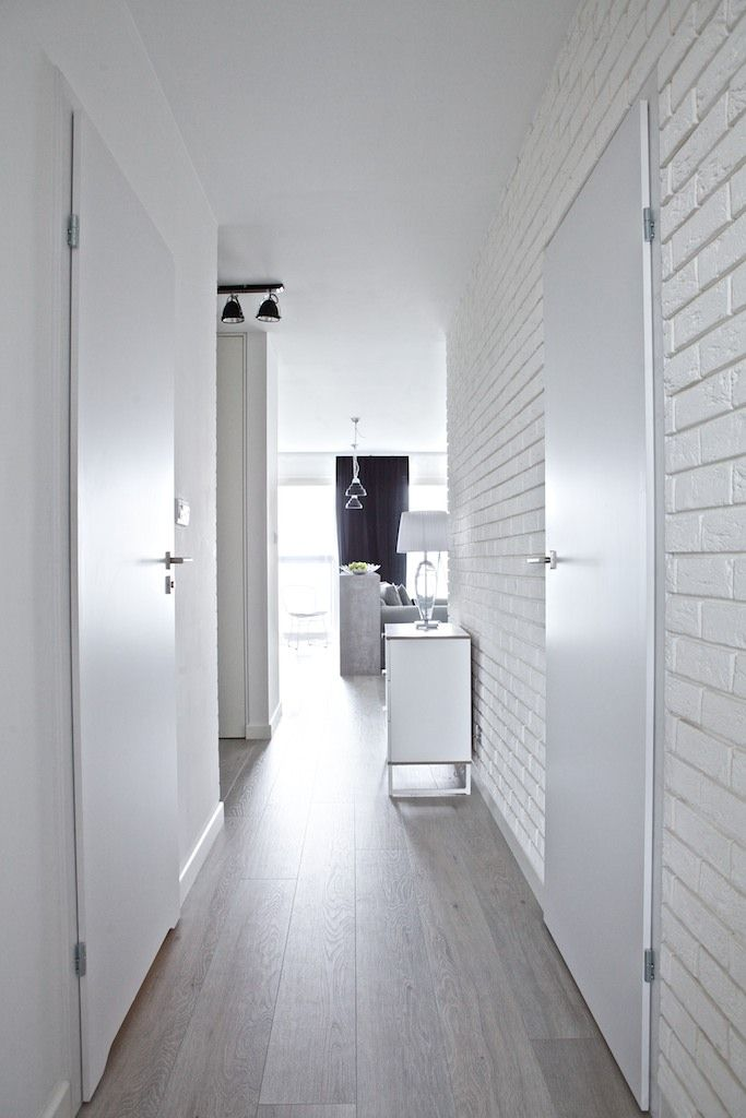 bia�a ceg�a na ścianie 30 pomys�243w i aranżacji dekoradypl