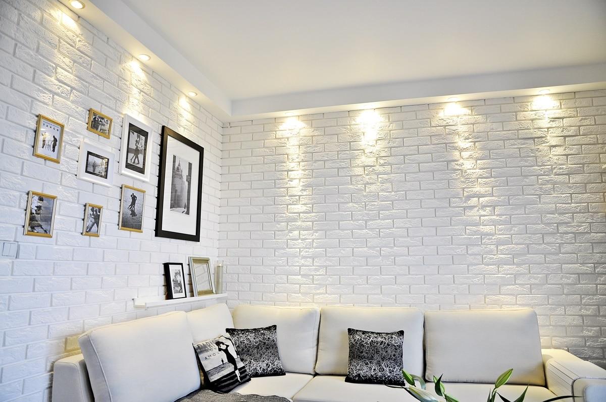 Biała Cegła Na ścianie 30 Pomysłów I Aranżacji Deko Radypl