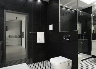 Bialo-czarna_mozaika_w_lazience