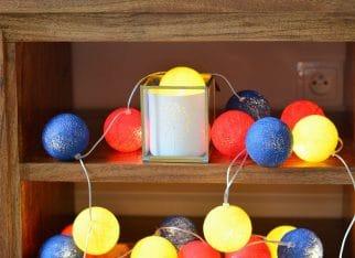 Fantastyczne Cotton Ball Lights