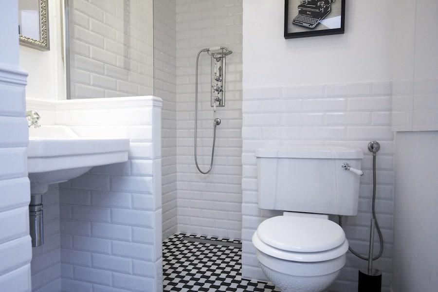 Czarno Biała łazienka Czyli Czerń I Biel W łazience Deko