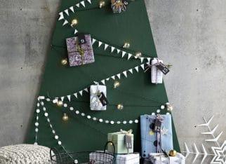 Dekoracje świąteczne w kolorze butelkowej zieleni