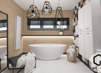 Decopanel-płytki-z-betonu-i-drewna-betonowe-płytki-3D-oryginalne-płytki-design-łazienka-betonowa