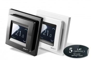 Dotykowy termostat DEVI marki Danfoss