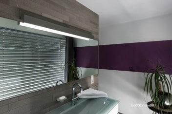 Dodatkowe oświetlenie umywalki w łazience