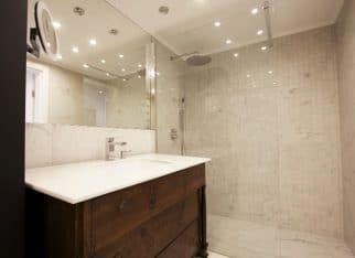 Drewno w łazience2