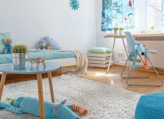 Dywan w pokoju dziecka