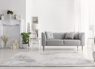 Wybór dywanu do salonu
