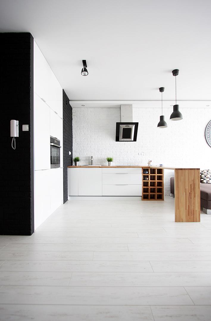 Biało czarna kuchnia 20 pomysłów na aranżację nowoczesnej kuchni!  Deko rad
