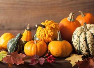 Dekoracja jesienna w domu