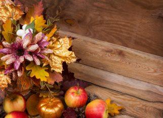 jak dekorować jesienią dom