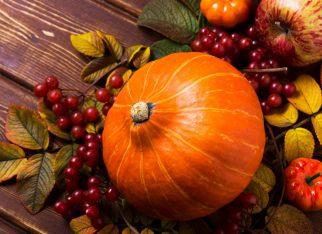 Dynia jako element dekoracji na jesień
