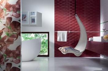 Kolorowe płytki, czyli łazienka w kolorach lata