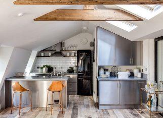 Kuchnia_na_poddaszu_decoist_Barlow & Barlow Design