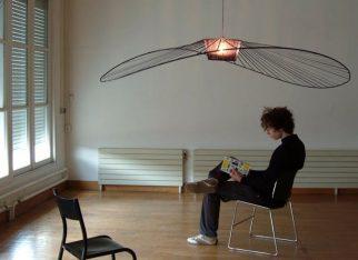 Nowoczesna wisząca lampa