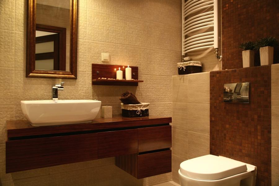 łazienka W Stylu Eko Wnętrze Blisko Natury Deko Radypl