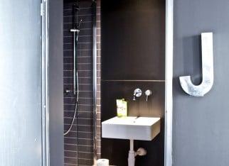 Łazienka w industrialnym stylu