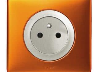 Włącznik Celiane pomarańczowy