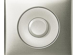 Włącznik Celiane srebrny