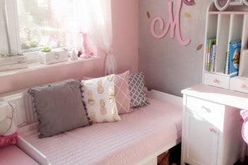 Literki na ścianę do pokoju dziecięcego