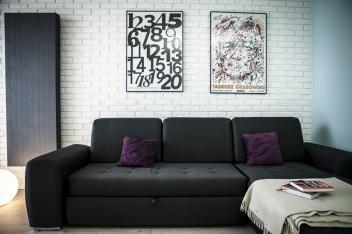 Małe mieszkanie w minimalistycznym stylu