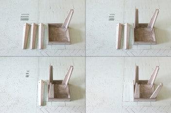 Meble z betonu do własnoręcznego zmontowania