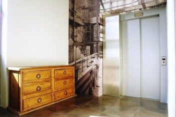Winda w loftowym mieszkaniu