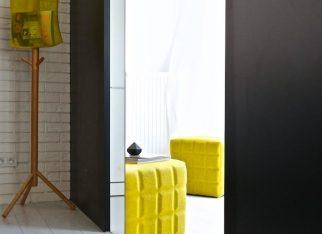 Żółte dodatki w mieszkaniu