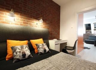 Sypialnia i miejsce do nauki