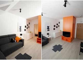Mieszkanie studenta: salon