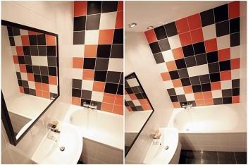 Studenckie mieszkanie: łazienka