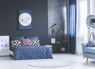 aranzacja-sypialni-w-niebieskim-kolorze