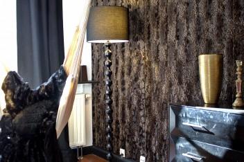 Barokowe dodatki w sypialni glamour