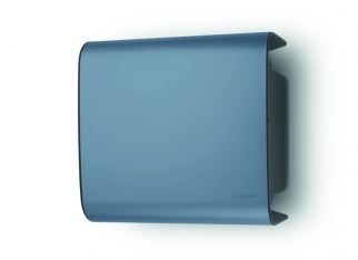 Okap Carre niebieski