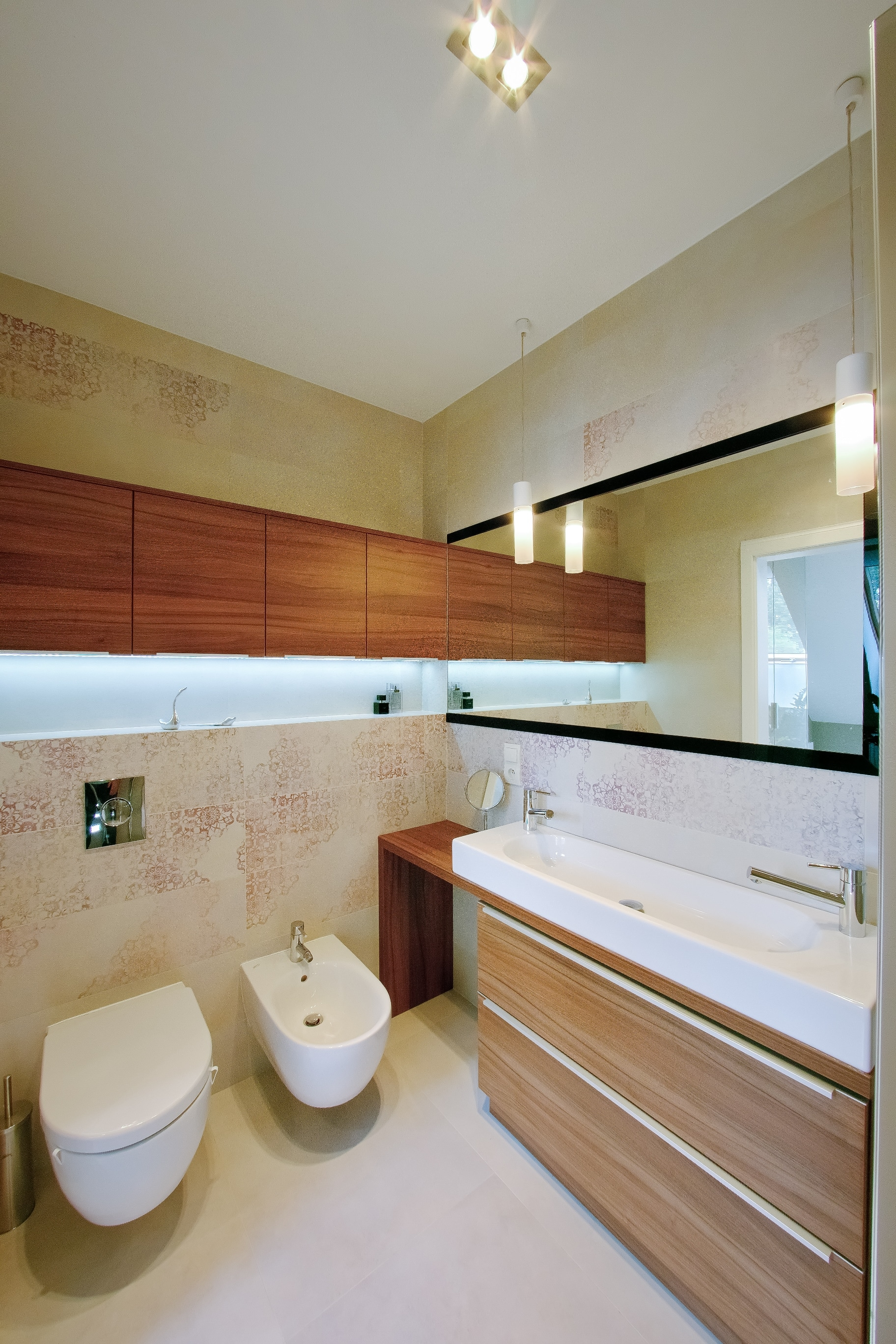 Oświetlenie Led W łazience Aranżacje łazienek Z