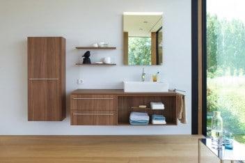 Oświetlenie lustra w łazience - zintegrowane