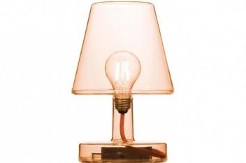 Oświetlenie strefy relaksu i snu: Lampa Fatboy Transloetje Orange