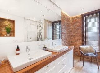 Oświetlenie w nowoczesnej łazience?