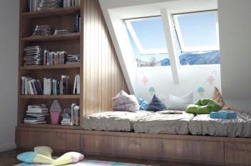 Jak oświetlić pokój dziecka na poddaszu?
