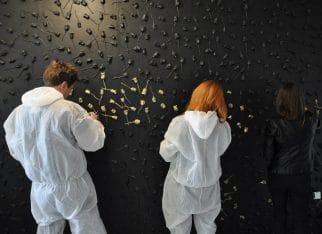 Malowanie Paneli ściennych 3D