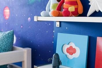 Pokój dla dziecka: kosmos